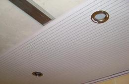 Сделать пластиковый потолок