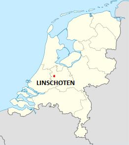Kaart Nederland Linschoten