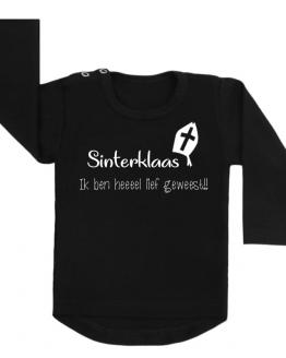 Sinterklaas shirt lief geweest