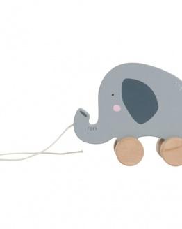 Little Dutch olifant trekdier met naam