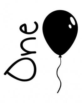 strijkapplicatie verjaardag één ballon. De leukste strijkapplicaties voor verjaardagen! Maak een gaaf verjaardagsshirt met een afbeelding of een tekst met onze strijkapplicaties. Natuurlijk kan je de strijkapplicaties ook op een tas of op hout drukken.
