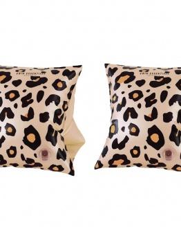 Beige leopard zwembandjes 2-6 jaar (kopie)