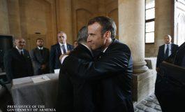 Նիկոլ Փաշինյանը ցավակցական նամակ է հղել Ֆրանսիայի նախագահ Էմանուել Մակրոնին