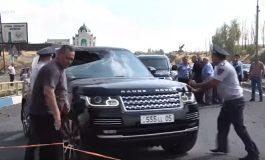 Երևան-Սևան ճանապարհի պայթյունի վայրից հեռացած մեքենան հայտնաբերվել է