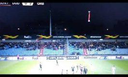 ՏԵՍԱՆՅՈՒԹ. Թե ինչպես է Արցախի դրոշը պտտվում ադրբեջանցի ֆուտբոլիստների գլխավերևում