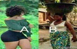 Les hommes : entre ces deux femmes (A&B) laquelle sera votre choix pour la vie et pourquoi ?