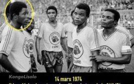Voici le véritable monument du football congolais et africain « Pierre Ndaye Mulamba », mais malheureusement beaucoup ne le reconnaissent pas et ne se souviennent même pas de cette date ... Ce jour-là ... Le 14 mars, comme aujourd'hui