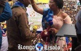 À Kisangani Olive Lembe bénit Shadary : regardez vous-même comme ils sont, ces congolais affamés et désespérés ... (VIDÉO)