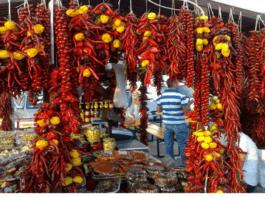 mercato del peperoncino
