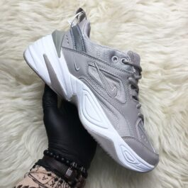Женские кроссовки Nike M2k Tekno Grey And White