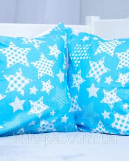 """Подушка из хопка маленькая для детской люльки """"Звездопад"""""""