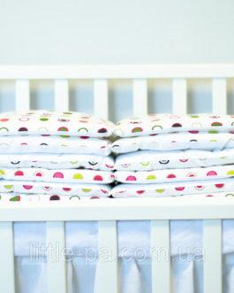 Бамперы хлопковые для детской кроватки «Конфетти»