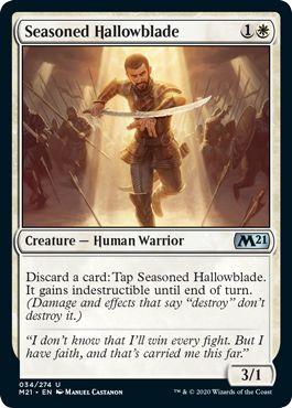 Seasoned Hallowblade Aggro Standard Deck