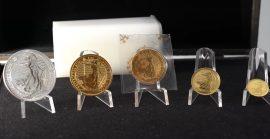 Goldmünzen, Britannia, Silbermünzen