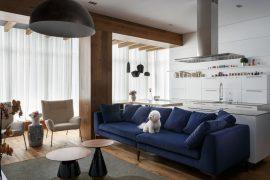 Architekt.Lemanski (Польша). Дом с изгибом