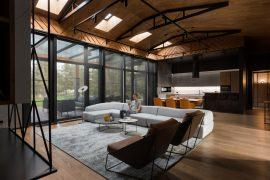 Martin Fenlon Architecture (США). Утопая в зелени