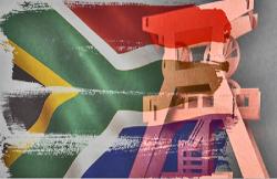 Gold, Förderung, Südafrika