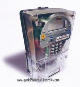 Penampakan meter Itron EM512 Tipe 700 JAVA
