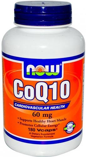 60 мг добавки с коэнзимом 180 капсул