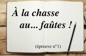 cours de français fautes