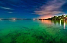 Bacalar, Mexico - Lagoon of seven colors