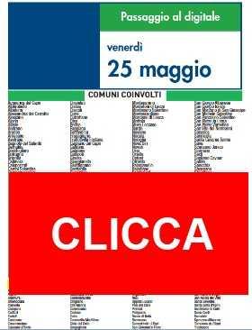 Switch Off Venerdì 25 Maggio | Digitale terrestre: Dtti.it