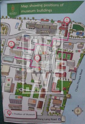 Peta Rumah Sakit dan Lokasi Museum