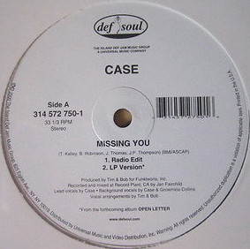 "Case - Missing You (12"")"