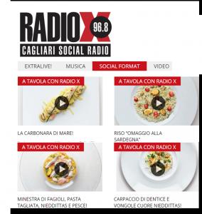 A tavola con Radio X
