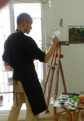 Still life sketches at Taller 4 Pintors. Barcelona