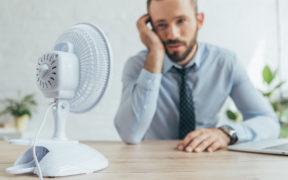 Für Hitze am Arbeitsplatz gilt die Arbeitsstättenverordnung