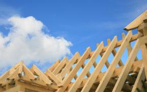 Der Dachstuhl ist Teil der Dachkonstruktion