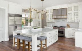 Verschiedene Küchenformen für verschiedene Grundrisse