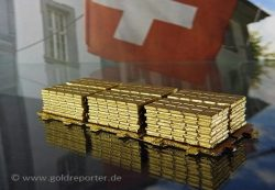 Gold, Schweiz, Goldbarren (Foto: Goldreporter)