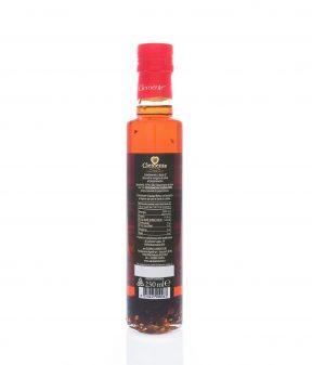Olio Extravergine 100% Italiano Aromatizzato al Peperoncino - Retro