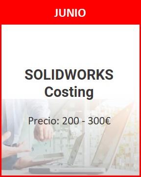 curso solidworks costing junio