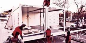 CHV Container Service Montage und Logistik Büro- und Sanitärcontainer