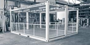 CHV Containeranlagen-Containertypen Terrassencontainer