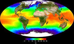 temperatura de los océanos