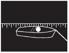 Positionslichter beim Stillliegen eines Kleinfahrzeugs