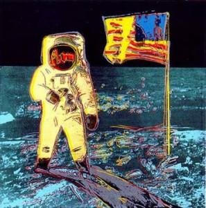 Ванкуверская Галерея Искусств Высадка амереканцев на луну