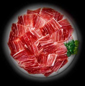ración de jamon iberico de bellota
