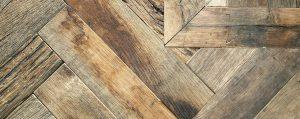 Oude eikenhouten vloer