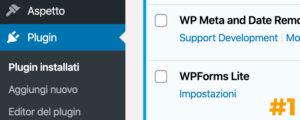 I Plugin WordPress di cui non puoi fare a meno #1