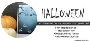 Halloween - ny temaside i TPC