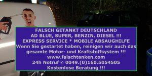 AdBlue falsch+getankt