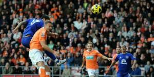 Everton Blackpool