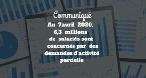DARES : Situation sur le marché du travail au 7 avril 2020