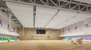 salle multisport intérieur indoor