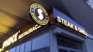Oznakowanie restauracji